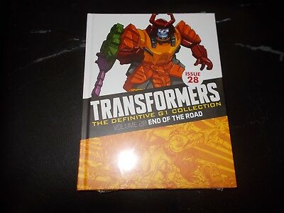 TRANSFORMERS - THE DEFINITIVE G1 COLLECTION - ISSUE 28 (Vol:20) END OF THE ROAD