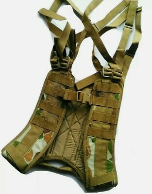 8 Point Harness Auscam Military WebbingHD 900D Double PU Coat - HUNTING / CADET