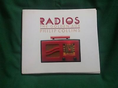 RADIOS The Golden Age - P. COLLINS - Book Vintage Radio d'epoca Collector GOOD