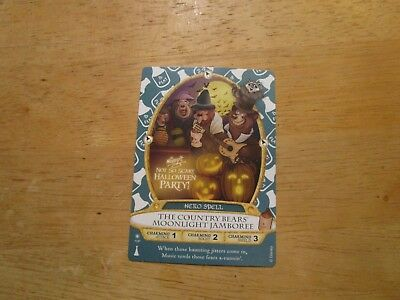 Sorcerers Not So Scary Halloween Party Country Bear Card