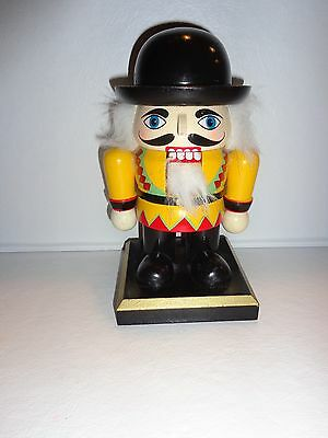"Wood Nutcracker Not Traditional 5.5"" High  Euc"