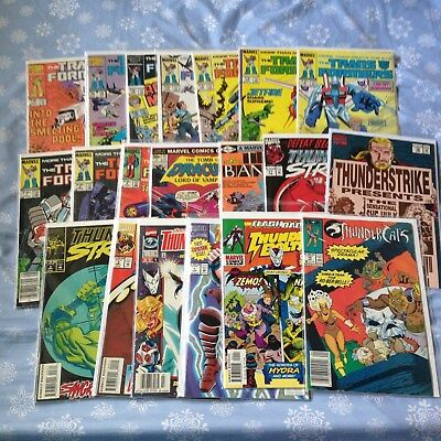 Marvel Misc. Lot-Thunderstrike, Thunderbolts, Tomb of Dracula, Transformers, etc