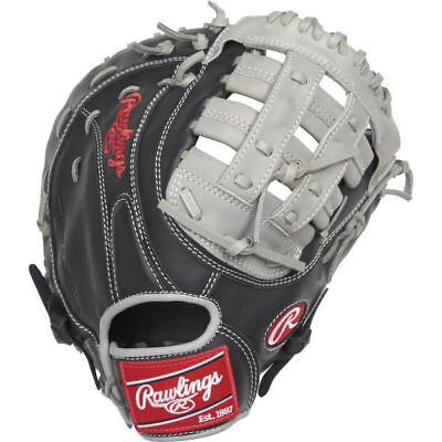 """2018 Rawlings Gamer 12.5"""" First Base Glove Pro H Web, Right Hand Throw"""