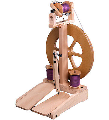 SPINNING WHEEL KIWI Mk2  by Ashford  Lacquered  New Kit  Excellent for Beginners