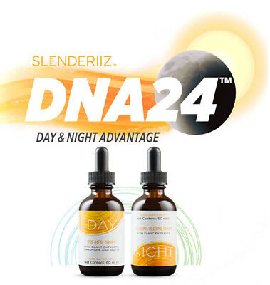 NEW ARIIX Slenderiiz DNA-24, Synergistic Weight loss system, 2x60 ml  SEALED
