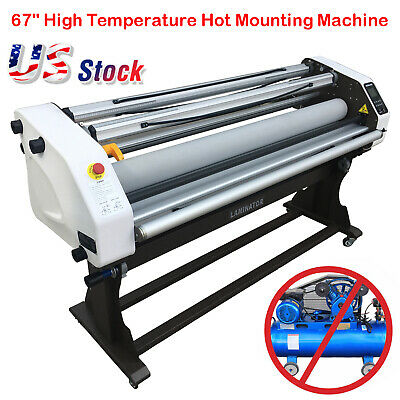 67 Inch Full-auto Take Up Large Hot Cold roller laminator Seal Laminator Machine