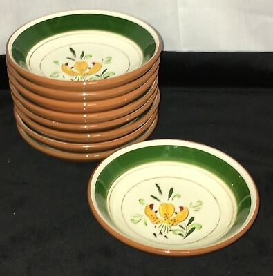"""9 Stangl TIGER LILY * 5 1/2"""" CEREAL BOWLS*"""