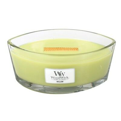 Massage Therapy Spa Special Woodwick Lemongrass &Lily Candle  Hearthwick Flame
