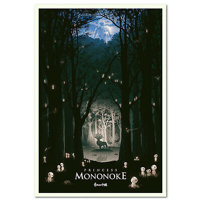 Princess Mononoke Poster - Exclusive Design 001 - High Quality Prints