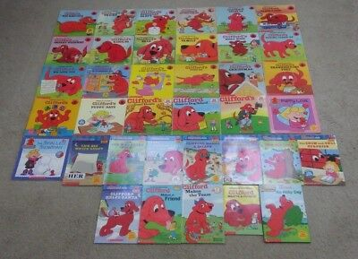 Lot of 37 Clifford the Big Red Dog Books by Norman Bridwell
