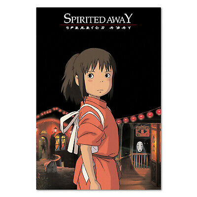 Spirited Away Poster - Official Art - High Quality Prints
