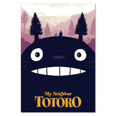 My Neighbor Totoro Poster Studio Ghibli Anime Art High Quality Prints
