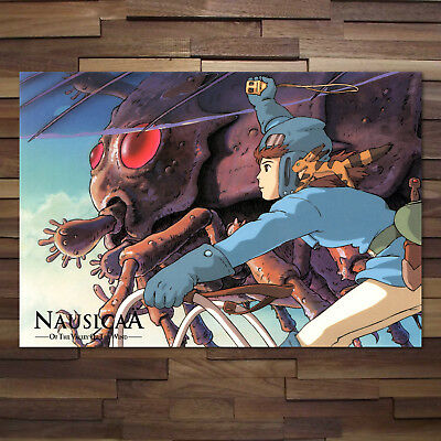 Nausicaa of the Valley of the Wind Movie Poster High Quality Prints