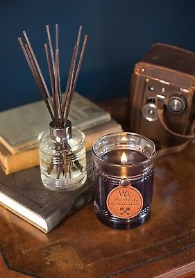 Massage Therapy Spa Special Woodwick MAHOGANY Candle RESERVE