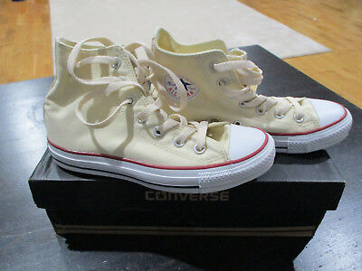 d007239488df NEW Converse Chuck Taylor All Star Hi Top White Cream Mens 4.5 Womens 6.5  M9162C