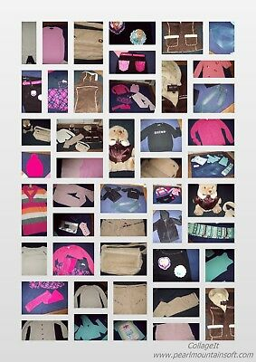 HuGe Lot Girl Clothes Size 10, 10/12 & 12 - Jordache, Hello Kitty, More! - 3 Day