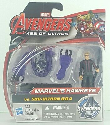 MARVEL AVENGERS AGE OF ULTRON HAWKEYE VS. SUB-ULTRON 004 2-PACK New In Hand Gift