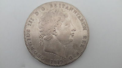 1819 UK Great Britain Crown LIX King George III Coin