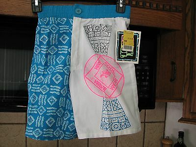 Way Cool Wave Wear vintage shorts beach swim trunks new old stock 1990s boys 8