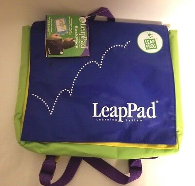 Brand NEW w TAG LEAP FROG Schoolhouse LeapPad Learning System Backpack Leap Pad