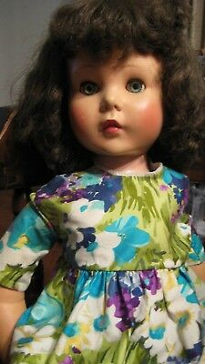 "Am Character's Sweet Sue doll is 30"" w jointed knees and vinyl-jointed arms."