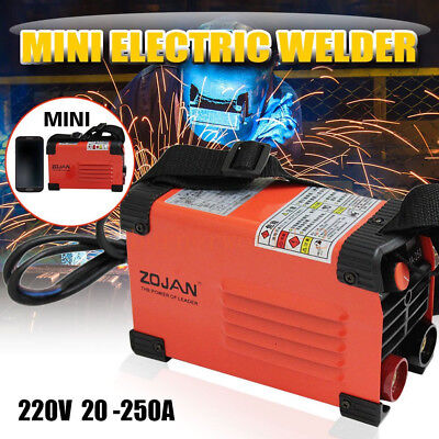 Mini MMA ARC Welding Machine AC220V 160AMP Portable Welder Soldering Machine