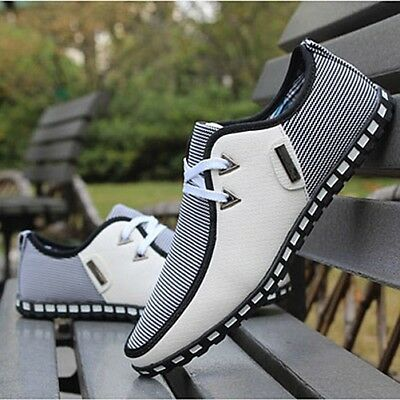 2018 New Men's Smart Casual fashion shoes breathable sneakers running shoes