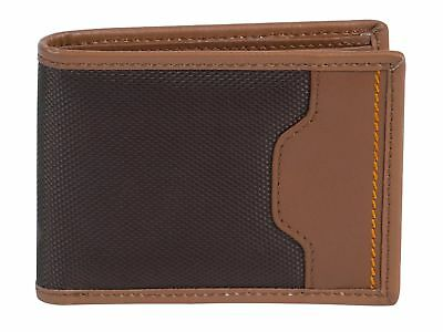 Travelon Safe Id Accent Deluxe Billfold Wallet One Size Saddle