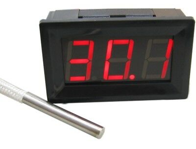30-800 °C LED Digital Temperature Meter Gauge Thermometer K Type Thermocouple