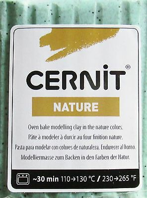 CERNIT - NATURE - Polymer Clay - 56g BLOCK - BASALT - CLEARANCE