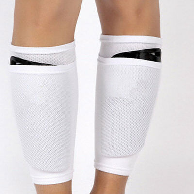 Soccer Shin Pad Leg Pads Protective Gear Holder Breathable Sports Training
