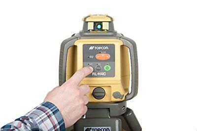 Rotary Laser Horizontal Level Topcon RL-H4C Dry Battery 10 Arc Second Accuracy