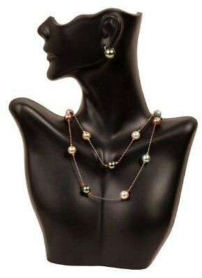 Jewelry Holder Stand Half Body Mannequin Necklace Display Earring Bust Decor