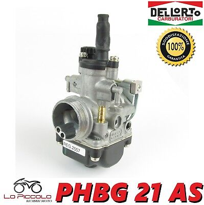 R2557 Carburatore Dell'orto Phbg 21 As Senza Miscelatore Scooter Minarelli 50