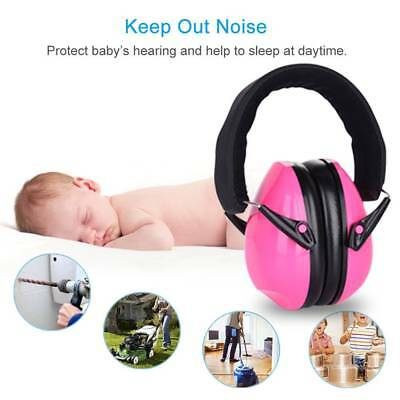 Baby Earmuffs Kids Children's Toddler Ear Muffs Hearing Protection Sleeping