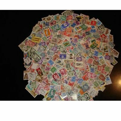 Lot 1000 Stamps Worldwide Used