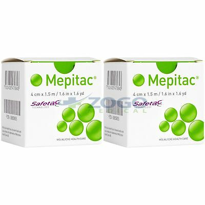"Mepitac Silicone Tape 1.6"" x 1.6 Yards  - Pack of 2 Rolls"