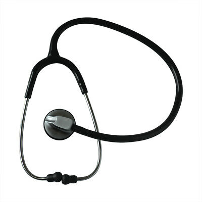 Superior Acoustic Single-Head Stethoscope Health Care Heart Rate Echometer Black