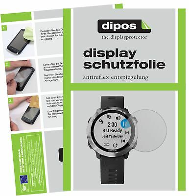 6x Garmin Forerunner 645 Schutzfolie matt Displayschutzfolie Folie Display