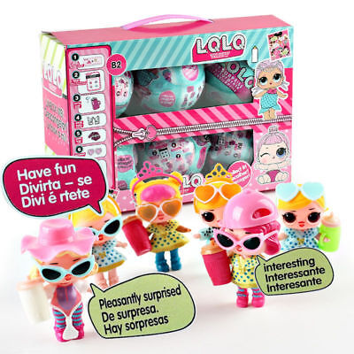 6Pcs LOL Surprise Dolls Lets Be Friends Series 2 Balls. Neu In Box! Spielzeug UK
