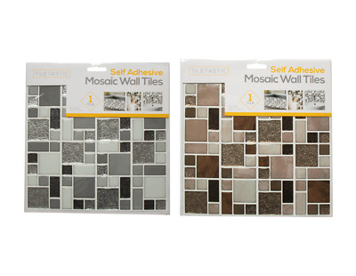 Self Adhesive Floor Tiles 30cm DIY Square Sheets Stick On Stick On Tile