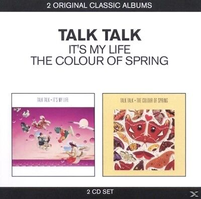 Talk Talk ‎– It's My Life / The Colour Of Spring ( 2 CD - Album )
