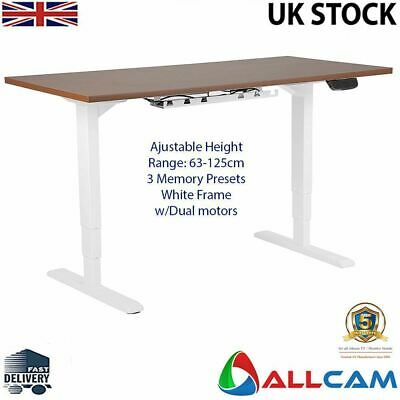 Allcam Dual Or Single Motor Electric Desk Frame /  Sit-stand Workstation