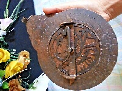 Antique Islamic Brass Astrolabe Navigation  Astrologic Ottoman Persian  arabic