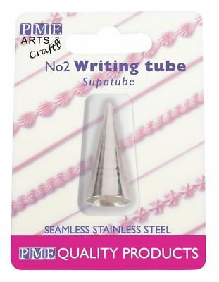 ST3 - PME Supatube Seamless Stainless Steel Icing Tube Piping Writing Nozzel