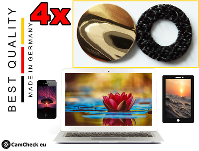4 Webcam Slider Camera Cover Protect Privacy, Cell Phone Tablet Laptop +Desigs