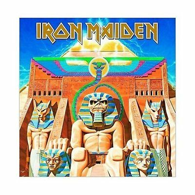 Iron Maiden Power Slave Greeting Birthday Card Any Occasion Album Cover Official