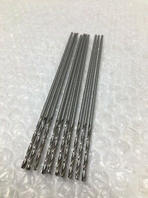 "(10) USA Made Extra Long 6"" Length Aircraft Drill Bits HSS, Number #40, .098"""