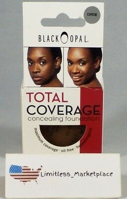 Black Opal Carob Total Coverage Concealing Foundation, 0.40 OZ.