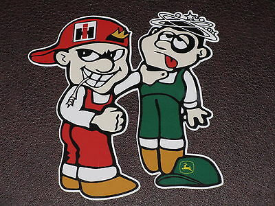 INTERNATIONAL HARVESTER JOHN DEERE STICKER DECAL McCORMICK HI TRACTOR FARMALL